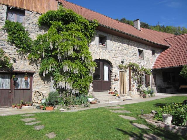 Le Pellenfrey, Maison du Bonheur -  Chambre LYS - La Mure - Rumah Tamu