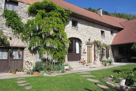 Le Pellenfrey, Maison du Bonheur -  Chambre LYS - La Mure - Guesthouse
