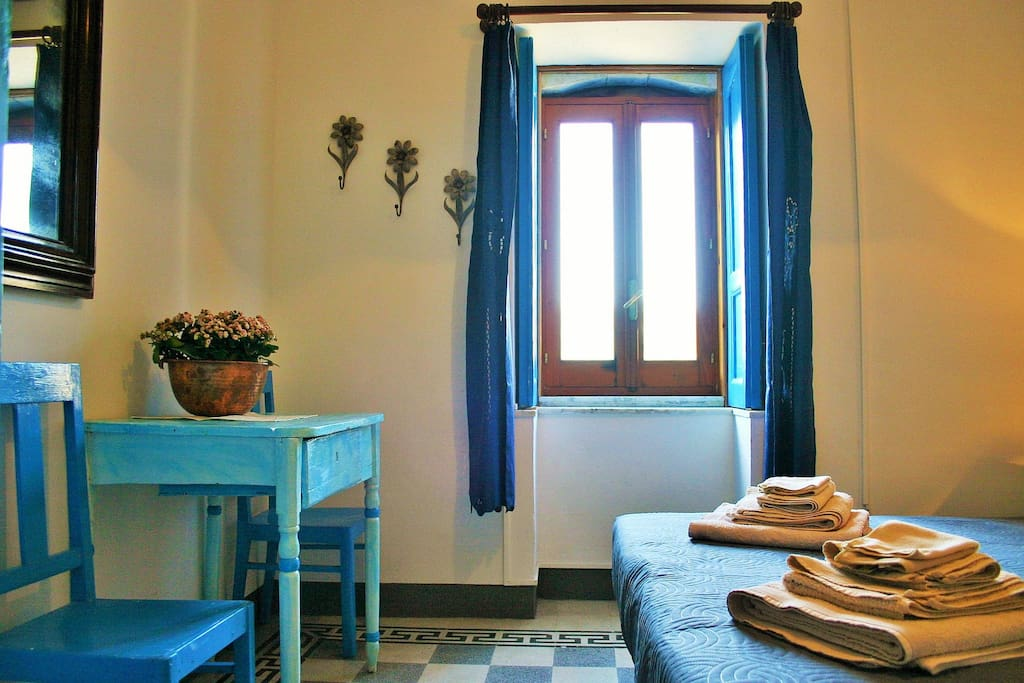 Cozy and fresh room, for your relax during the hot hours