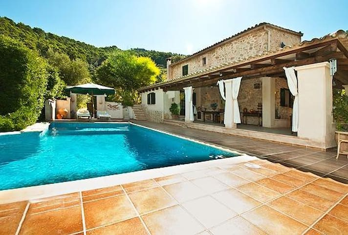 Villa with pool and superb view - Andratx - Villa