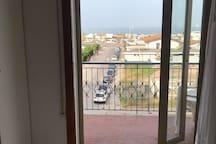 Vista dal balcone della seconda camera