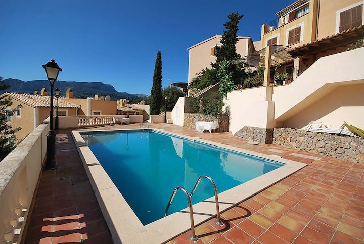 Comfortable flat with shared-pool in Port Sóller