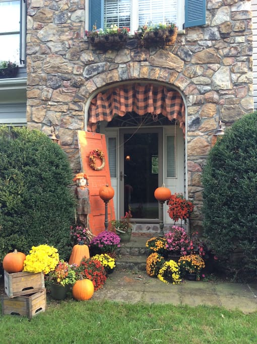 Fall has arrived at the Rozee Rental