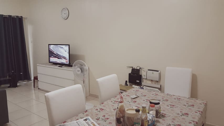 Cozy private room with fully furnished amenities
