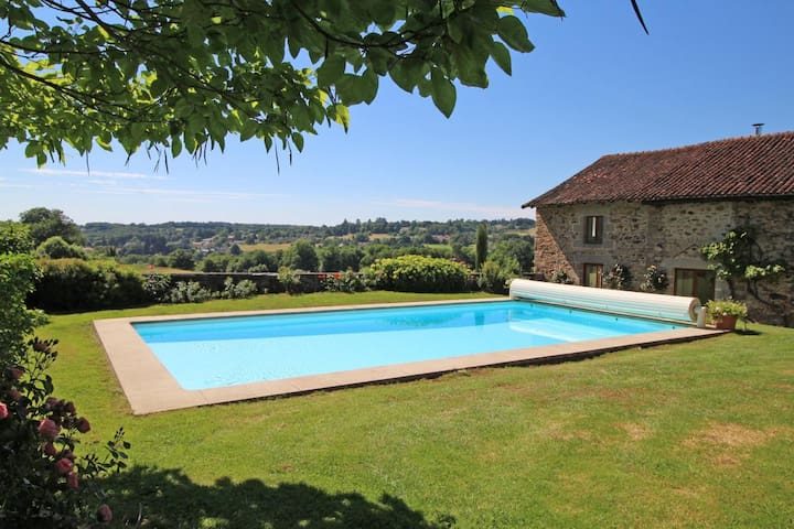 Stunning view over the french countryside - Condat-sur-Vienne - House