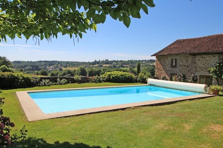 Stunning view over the french countryside - Condat-sur-Vienne - Haus