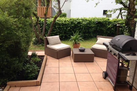 Cozy room with terrace and garden. 10mins to City! - München