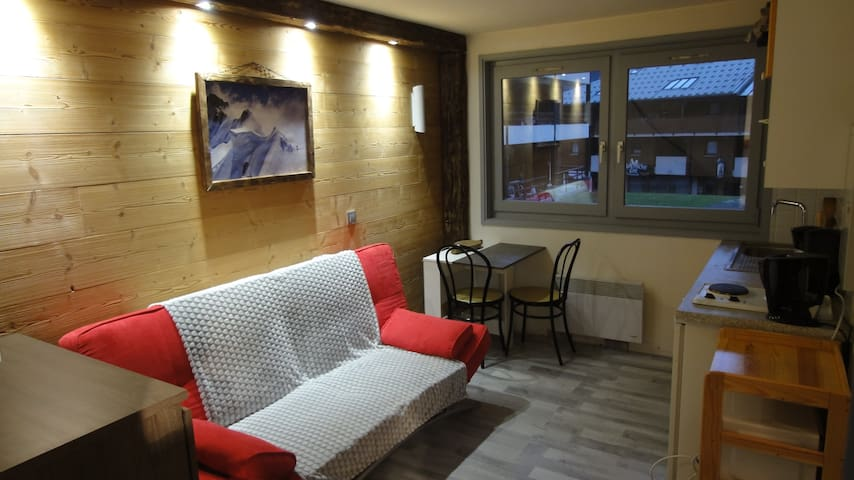 Appartement 6 personnes au pied du télécabine - Saint-Jean-d'Aulps - Appartement en résidence