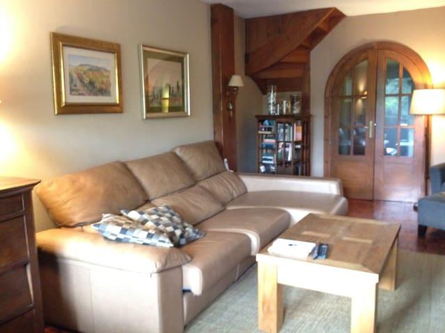 Duplex amplio y soleado con terraza - Irun - Apartament