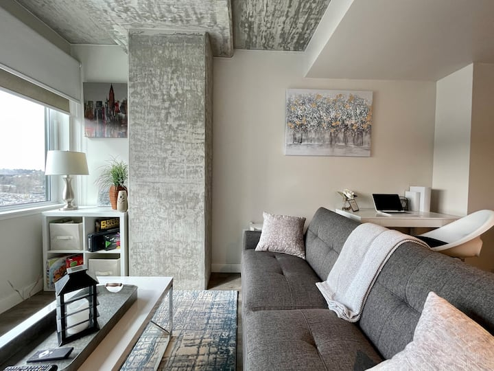 Modern Cozy 1Bdrm By Airport/Dine/Shop/Stay/Remote