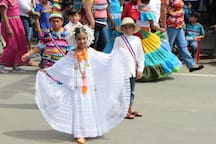 experience the colorful local culture