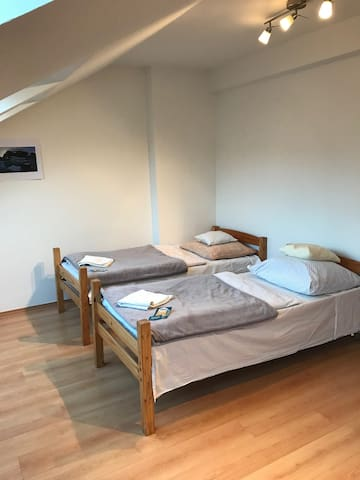 Spacious Room - Minutes from Prague Centre!