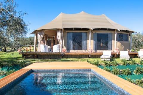 Lodge - Blue Saphire Telt - Luksus i villmarken