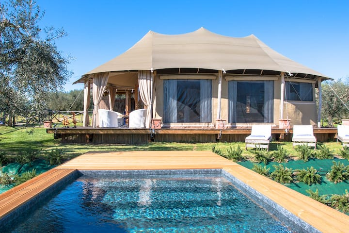 Exclusive Glamping - Blue Saphire Tent