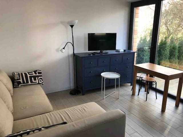 Studio with parking place close Luxembourg City
