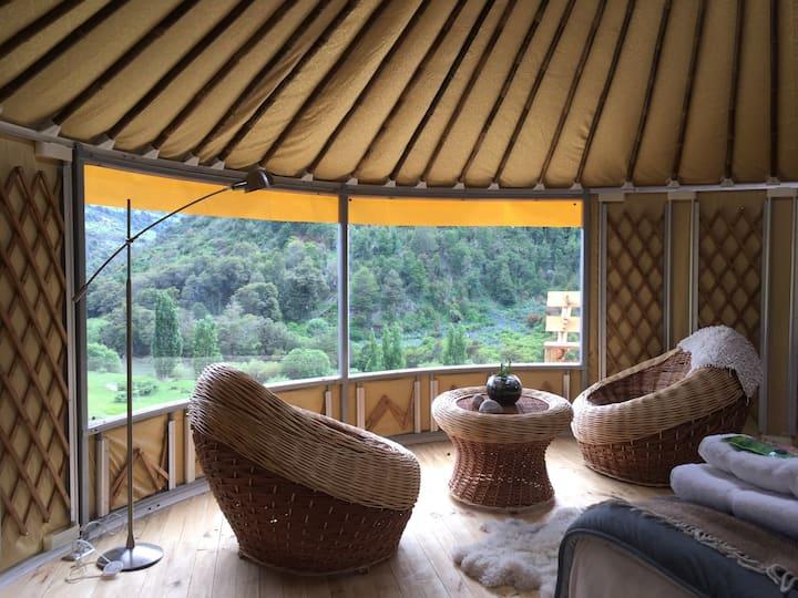 Glamping Yurts Coyhaique Patagonia
