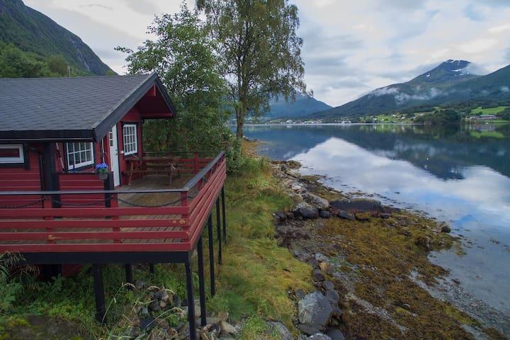 Cabin 3 Terrace Fjord Tresfjord Vestnes