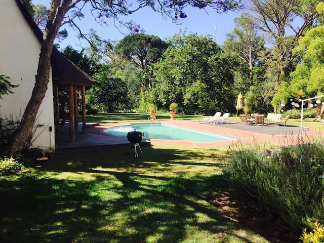 Relax on the banks of the Lourens River