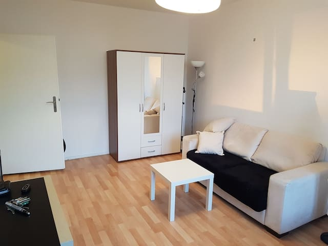 1 Room Apartment, Bathroom, Kitchen - Central