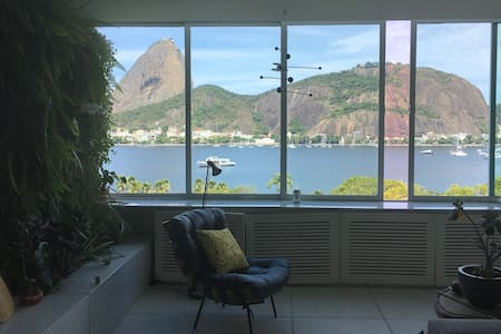 Suite + Outstanding view of Sugar Loaf Mountain - リオデジャネイロ - アパート