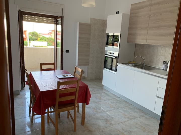 Quiet apartment near the sea in Taranto