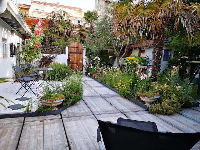 Havre de paix! Maison avec jardin,Toulouse centre