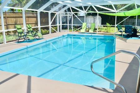 Private Heated Pool Home with ideal location!