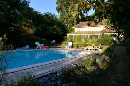 Beautiful house with swimming pool - Tilh - Talo