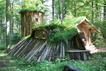 Waldschlösschen inmitten der Natur