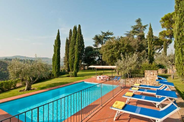 Montoro - Elegant Villa in the Heart of Chianti - Greve in Chianti - Villa
