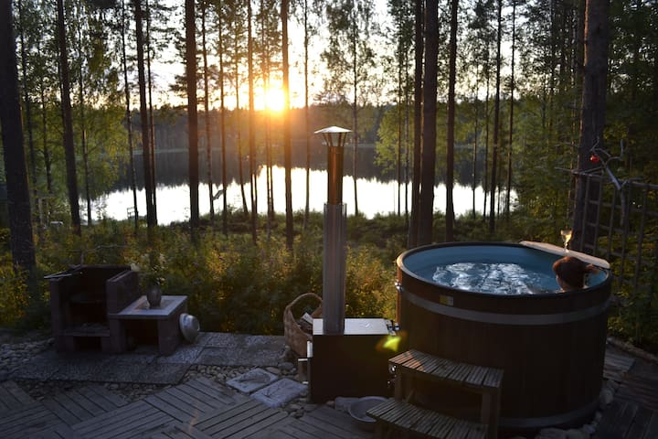 Summercottage with Hot tube