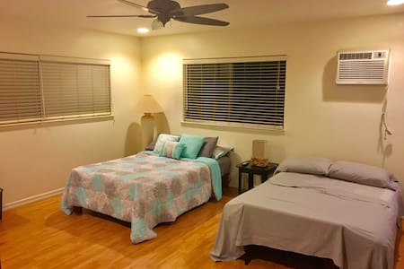 Spacious, quiet, cozy, hot tub - Waipahu