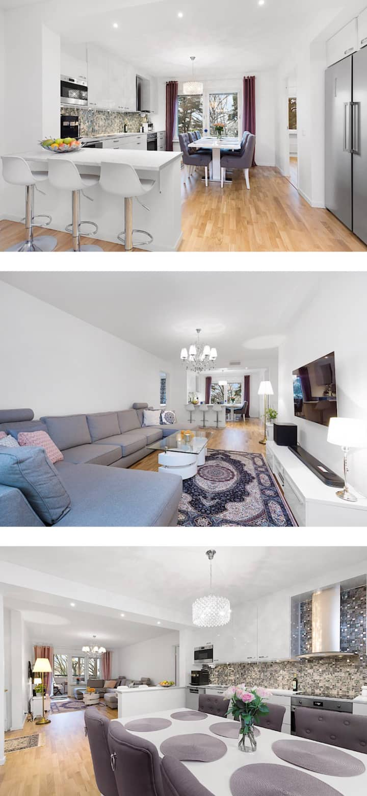 Luxury apartment with full facilities & breakfast!