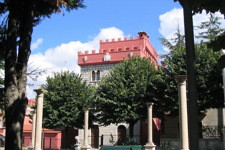 Apartment in Castle in Rosello with Pool
