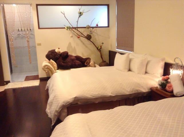 温馨四人房 - 新北市 - Bed & Breakfast