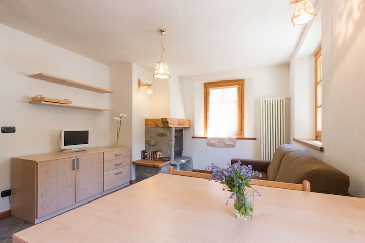 Cosy apartment in Champorcher, near the ski slopes