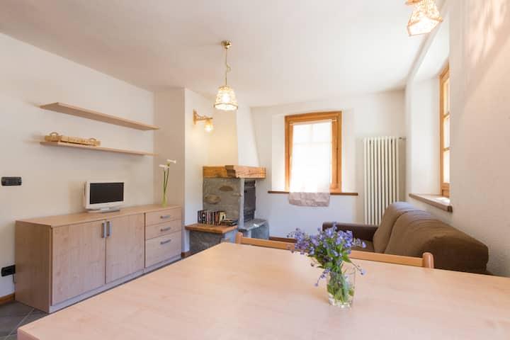 Cosy apartment in Champorcher, near the ski slopes