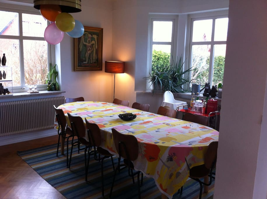 Spacious dining area for great family meals!