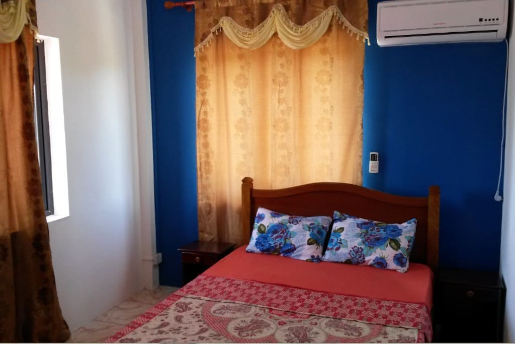 Air-Conditioned Bedroom - Blue