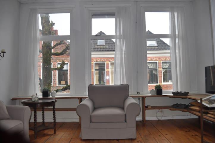 Bovenwoning in charmante wijk - Groningen