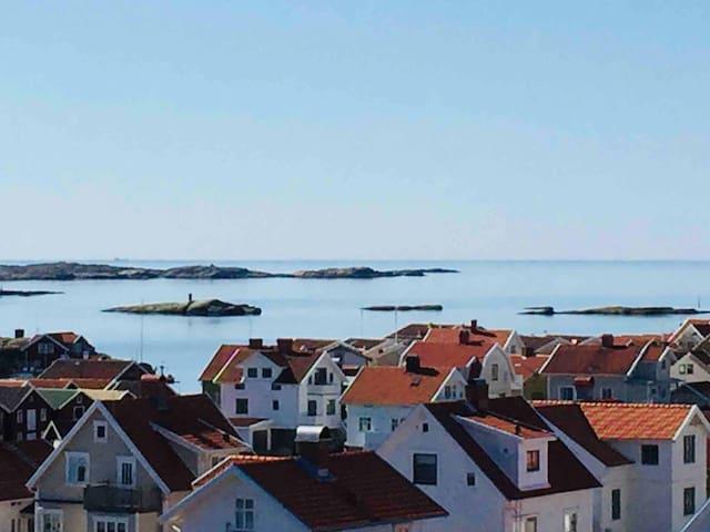 Hus med havsutsikt på Smögen