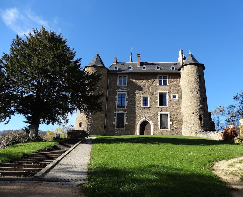 The Castle's main building where the home is located.