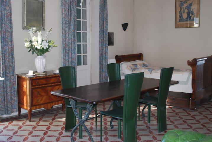 Appartement n°1    la Terrasse - château Paulignan - Trausse-Minervois - Apartment