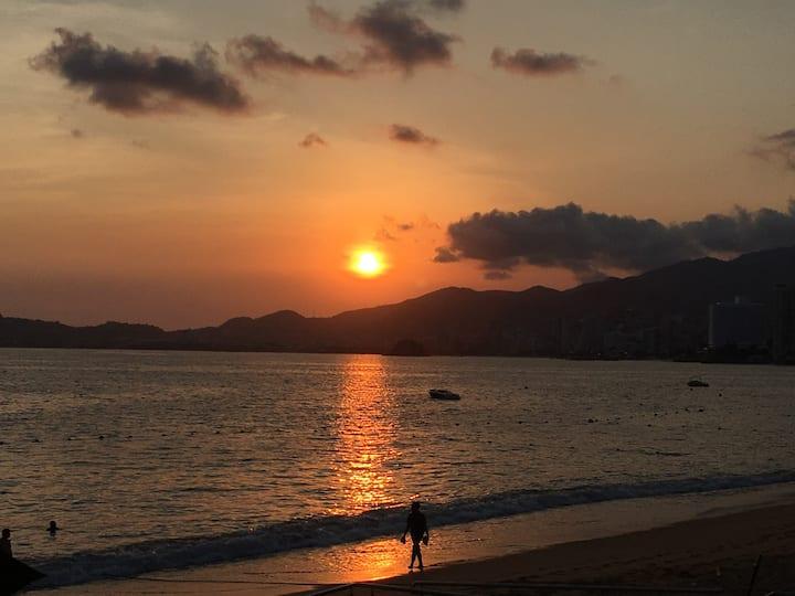 Departamento con playa en acapulco