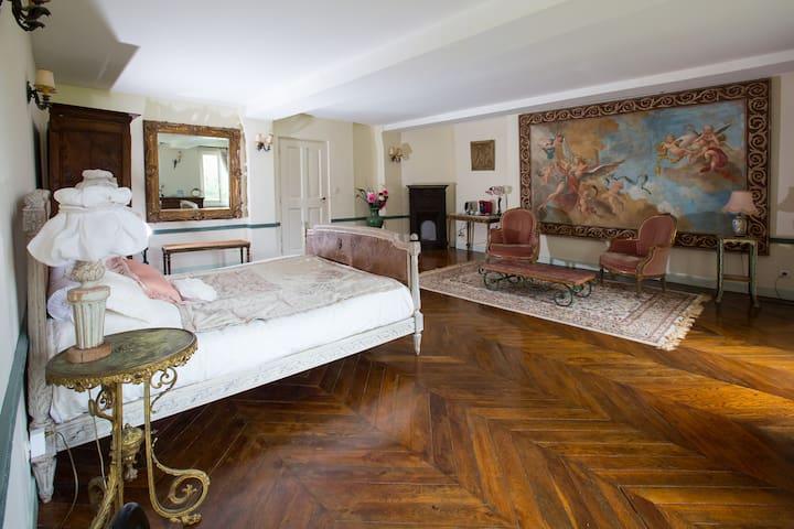 Chambre familiale pour 4 personnes  - Pressagny-l'Orgueilleux - Bed & Breakfast