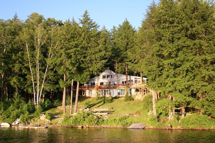 Private Lakefront Getaway in Central Maine - Chesterville - Cabin