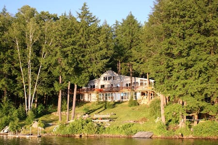 Private Lakefront Getaway in Central Maine - Chesterville - Hytte