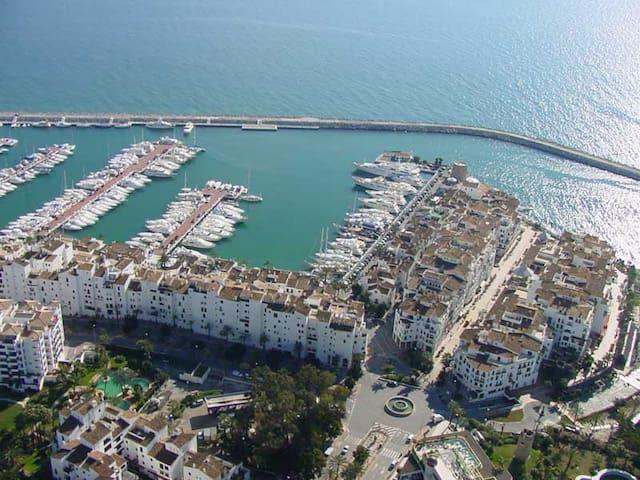 Puerto Banus, Marina, (PB203) 2 BRs - Marbella - Wohnung