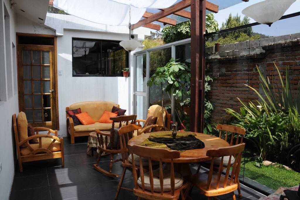 Apartment suite near Quito