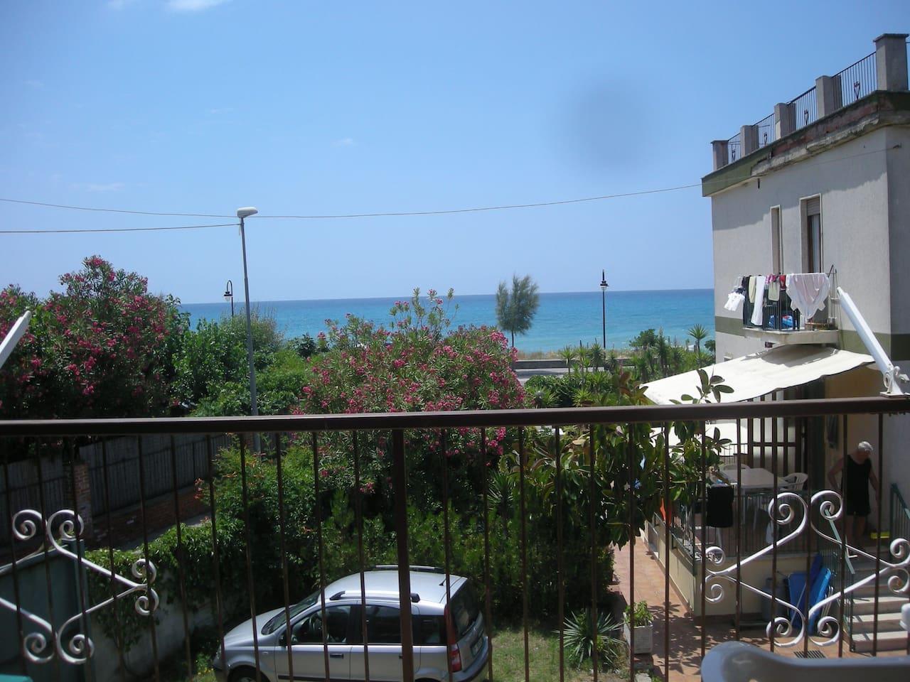 Panorama dal terrazzo del tinello